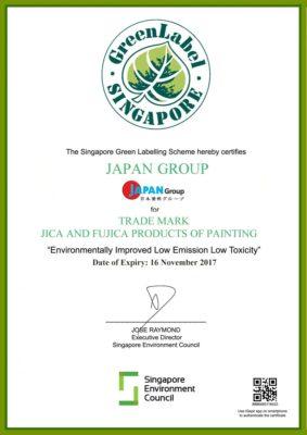 Japan Group nhận Nhãn xanh Green Label