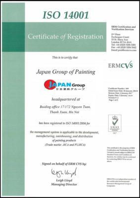 ISO 140001 Jica