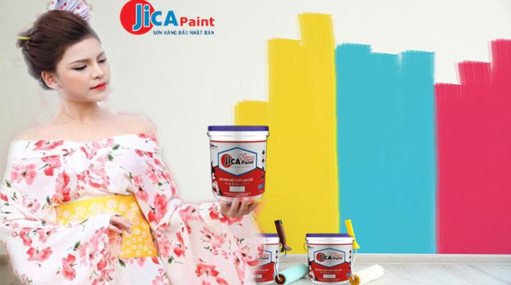 thông tin sơn mịn nội thất cao cấp Jicapaint