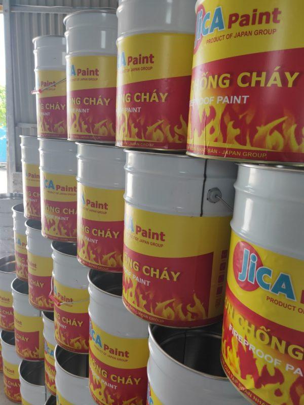 sơn chống cháy jica nano